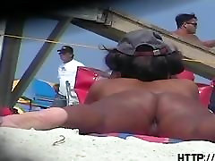 deci papa hotties followed around by a nude beach voyeur