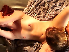 Elle Alexander and GF love licking pussy in 69 position