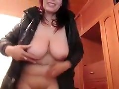 Private homemade couple, masturbation adult record with hottest Helenamilf