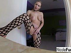 Nicoles self shot solo masturbation