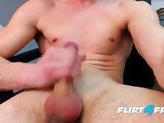 bruce larsen dėl flirt4free - didelis dicked stud plinta savo osła ir gauna ne