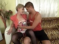 Horny honung hairy mature