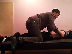 Male armpits tickling