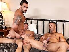 Trey and Armando sharing a guy