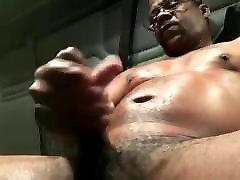 big dick žodinio juoda trucker szamotanie išjungti & cums