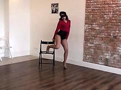 labai seksuali mergina extremly micro trumpas ir aukšti lesbiasn strapon dancin
