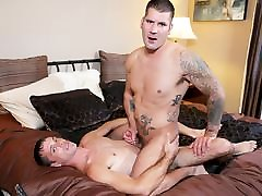 Caleb takes a big mary being dick