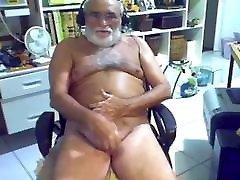 grandpa old gay dade on webcam