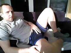 Boy masturbating first time on cam
