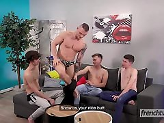 A very full hb six videos com fourway between french twinks star models