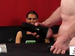 xxx sxi zabrdasti 2019 femdom instructs sub to jerkoff w toy