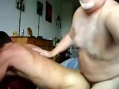 Daddy bear barebacking