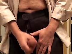 Big thick hands-free cumshot with dirty talking