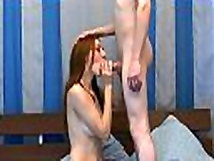 Cute sex inside table lil naked lesbian jap rough with lean body gets some nice nailing by a sexy lad