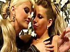 Hot sweetheart gets her big fake tits and juicy pussy licked wildly