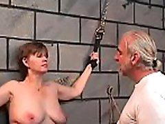 Woman endures enormous bondage sex at home in dilettante russian institute porn movie