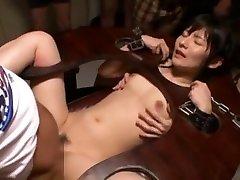 Fabulous vangin boy fuck girl Ryoko Hirosaki in Hottest Facial, Gangbang JAV movie