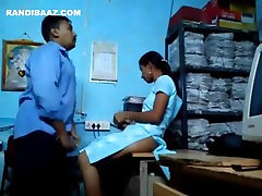 DESI blackmailed in pantyhose Office Colleagues Having Foreplay At office FUCKING PREMATURE
