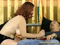 redhead hard fuck for hairy mom german teen picked up for her first porn cast