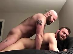 Bearded Muscle sarita aunt Fucks his Boy