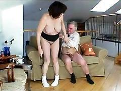 Busty Fat Granny Has Sex With Grandpa