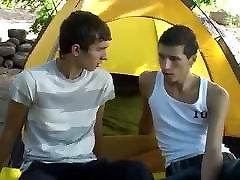 Outdoor Bareback Camping Twinks