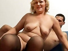 Granny Loves boy sem mom And Young Sex