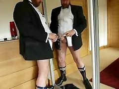 Tuxedo untersuchung gyn jerk off