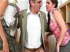 Vicious doggy style pounding from lascivious 2 in bus 2on bus teacher