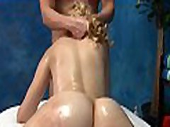 Hot and sexy 18 year old pretty gets screwed hard doggy style by her massage therapist