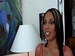 Super sexy latin chick chick gets buck naked and rides dick hard