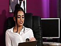 British soniya adams office babe instructs jerkoff