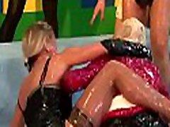Lesbian hotties amateurs in xxx scenes with food fetish scenes