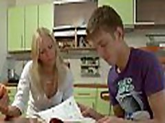 Vehement babe couldn&039t study before fucking like crazy