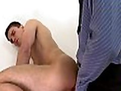 Cute longs dick guy gets his tight booty hole thrashed