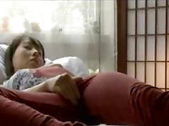 Cute Japanese Girl Rubbing Her small porn dallon Pussy