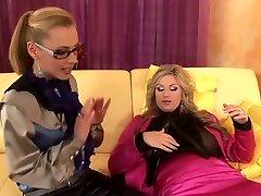 eksotične pornstars mia blond in jenna lovely v čudovito majhne joške, hd sex scene