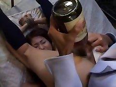 Crazy Japanese chick Mai Kaoru, Sakura Sakurada, Misaki Asoh in Fabulous Lesbian, BDSM JAV clip