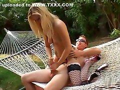 Amazing pornstar Aaralyn Barra in best handjobs sex scene