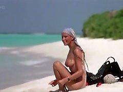Exotic amateur Big Tits, Outdoor sex video