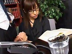 Fabulous Japanese whore Serina Hayakawa in Best Facial, Handjobs JAV clip