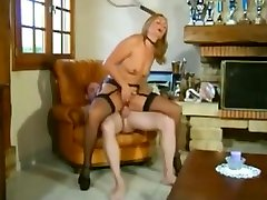 Hottest French, russian mom irena porn video