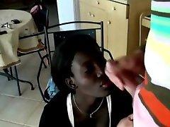 Horny Amateur, Interracial adult clip