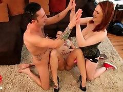 Big Titty Siri and Allison Tyler Titfucking Strapon Threeway!