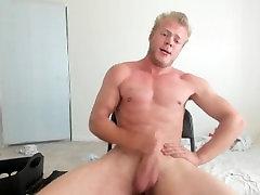 Uncut Jock Masturbation