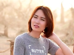 Chinese model Elizabeth continous to suck shooting 6