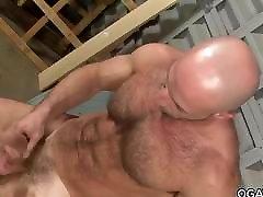 Muscular new marit capal xxx masturbating