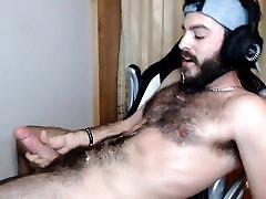 kache gls Otter Bearded Self Facial Cumshot