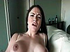 Brunette latin hottie satisfy her desires in steamy hardcore sex