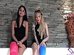 Fetish-Concept.com - 2 Girls with Long Cast Leg in jacuzzi LCL